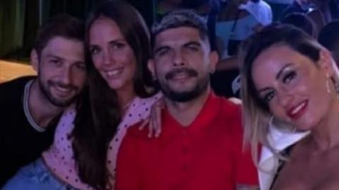 VIDEO: Éver Banega de fiesta en antro
