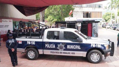 Ocho presuntos integrantes del CJNG fueron detenidos en Poza Rica