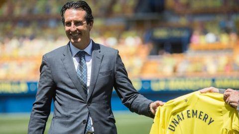 """Emery: """" Los sueños son libres y sueño con un título con el Villarreal"""""""