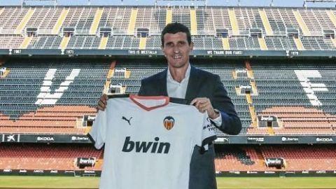 Javi Gracia toma las riendas del Valencia