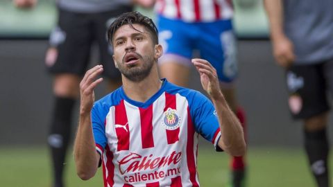 Oribe Peralta, uno de los casos positivos de Covid-19 en Chivas