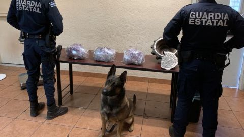 9 kilos de metanfetamina confiscados