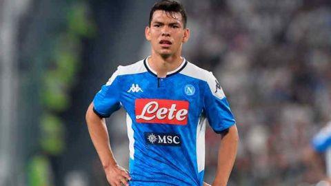 Lozano y el Napoli fuera de competencias europeas en la tabla