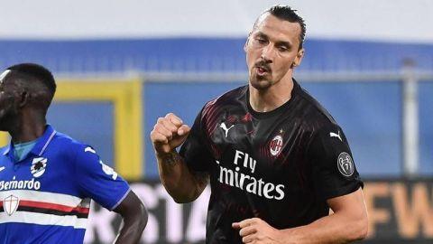 Ibrahimovic se compara con Benjamin Button luego de anotar doblete