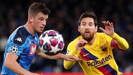Napoli teme ir a jugar en Barcelona ante rebrote de COVID
