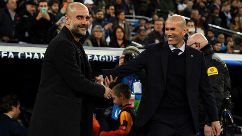 Guardiola muestra admiración por Zidane