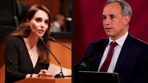 ''Muerto el niño a tapar el pozo'', dice Lilly Téllez a López-Gatell
