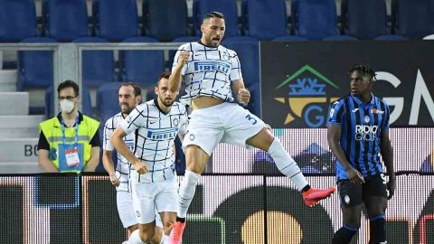 Inter vence al Atalanta y es subcampeón de Italia