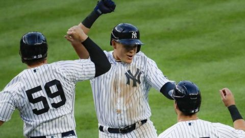 Urshela logra su 1er grand slam; Yankees vencen a Boston