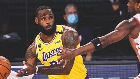 Raptors obtienen triunfo ante Lakers