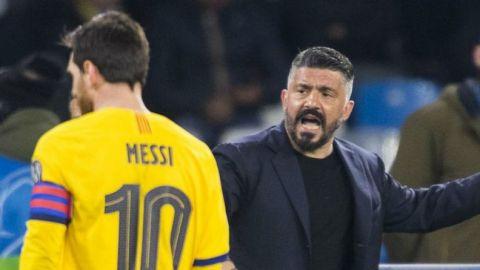 Gattuso dijo que solameente podría marcar a Messi en sueños o en videojuegos