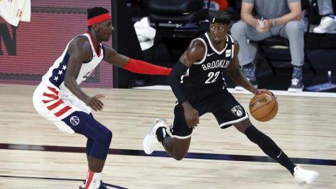 LeVert aporta 34 puntos en triunfo de Nets sobre Wizards