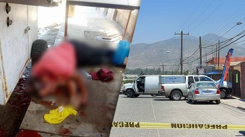 ⚠ FUERTES IMÁGENES: Muere hombre baleado y mujer sale herida