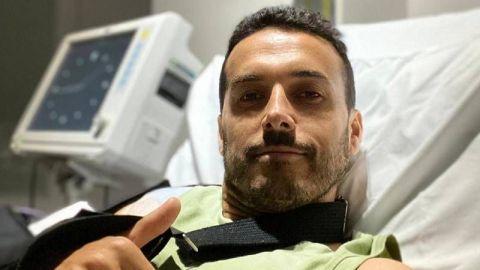 Pedro se somete a una cirugía en el hombro