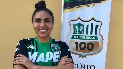 Sassuolo oficializa fichaje de la mexicana Estefanía Fuentes