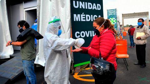 México roza 450,000 casos de coronavirus, fallecidos suben a 48,869