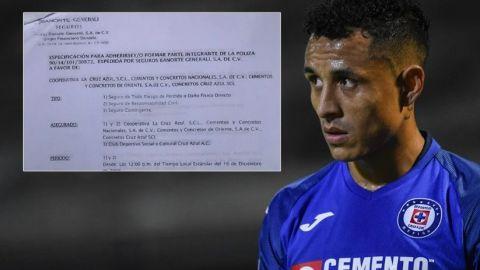 Revelan supuestos documentos de los 20 mdd que recibía Cruz Azul por torneo