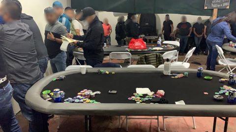 Son 37 detenidos en casino clandestino de Playas de Tijuana