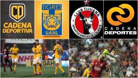 ¡Xolos vs Tigres en Grupo Cadena!