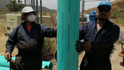 Consiguen más agua de pozo para Ensenada
