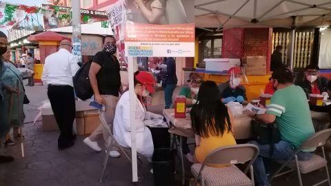 Concientiza Secretaría de Salud sobre Covid y VIH en la Zona Norte