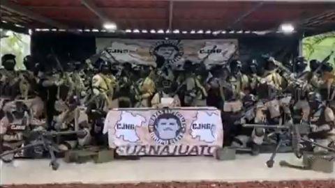 Violento cartel mexicano CJNG promete ''paz'' a Guanajuato tras caída del Marro