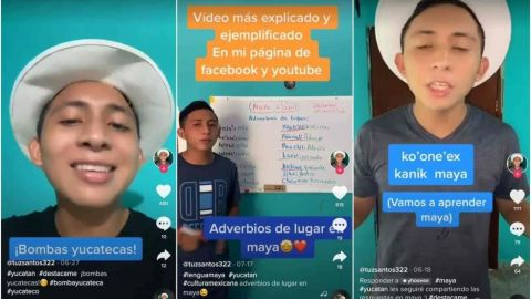 VIDEO: Santos Tuz, el tiktoker mexicano que enseña maya