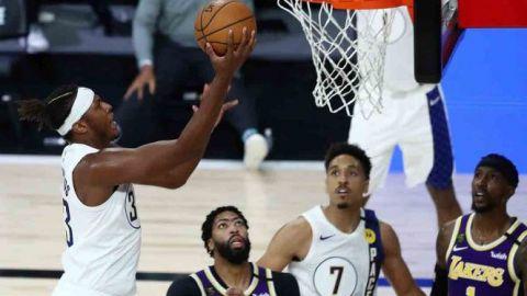Pacers sorprenden a los Lakers y acarician los Playoffs