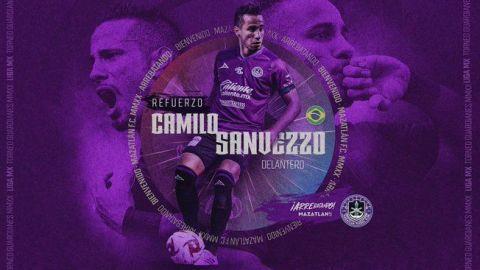 Camilo Sanvezzo es presentado como refuerzo del Mazatlán FC