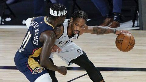 Spurs siguen vivos tras vencer a Pelicans
