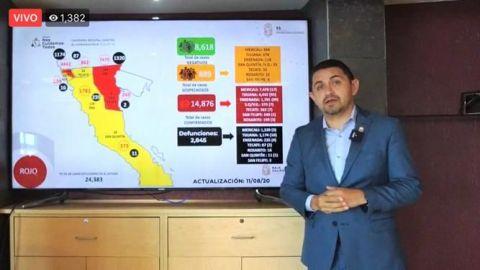 El COVID-19 mata menores de edad y embarazadas en Baja California
