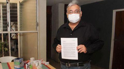 Mexicano que sobrevive crea guía para sobrellevar la enfermedad