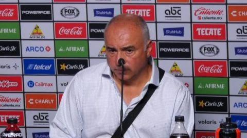 VIDEO: Memo Vázquez: Contento por el esfuerzo grande que hizo el equipo