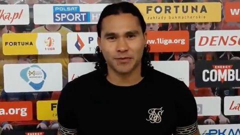"""Carlos """"Gullit"""" Peña y su nuevo equipo"""