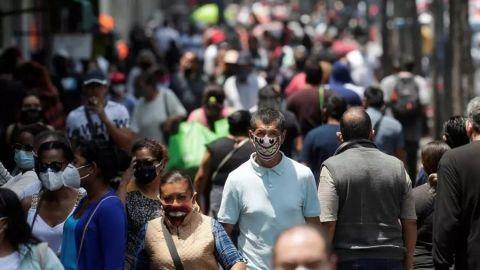 México rompe la barrera del medio millón de casos de COVID-19