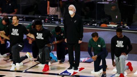 Spurs, fuera de playoffs por 1ra vez en 23 temporadas