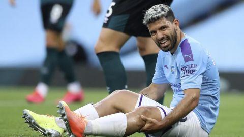 Guardiola descarta a Agüero para el partido del City ante Lyon por Champions
