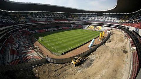 El Estadio Azteca vuelve a recibir al futbol 153 días después