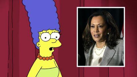 VIDEO: Marge ''responde'' al equipo de Trump por compararla con Kamala Harris