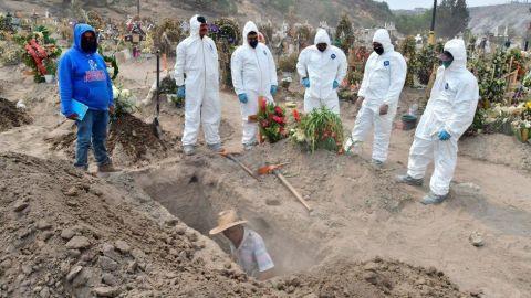 Decretan duelo nacional de 30 días por muertes a causa de Covid-19