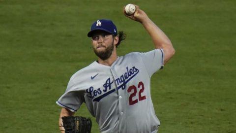 Kershaw domina; Dodgers derrotan a Angelinos