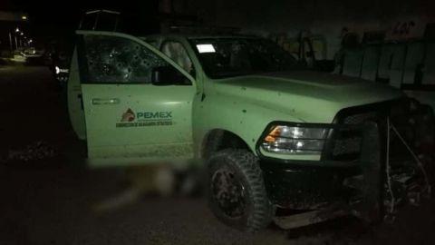 Emboscan y matan a 4 oficiales de Pemex en Querétaro