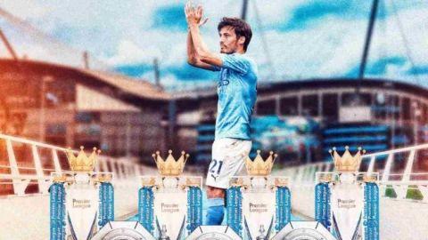 Manchester City rendirá homenaje a David Silva con una estatua