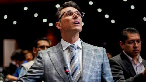 Sergio Mayer llama a reactivar la ''maravillosa industria'' del cine