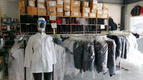 Crítica, situación de empresas de ventas de uniformes