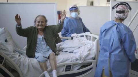 Abuelita de 102 años supera el Covid-19