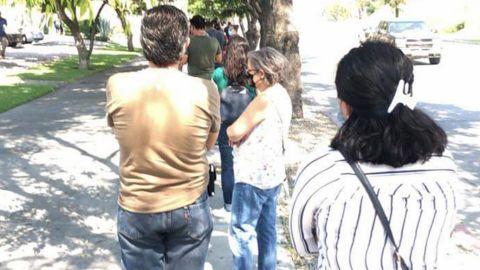 Largas filas en Costco en Tijuana a pesar del calor