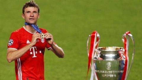 """Müller: """"Me alegro de mostrar que todavía aportó algo"""""""