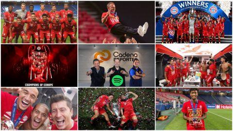CADENA DEPORTES PODCAST: Bayern Munich campeón de la UEFA Champions League