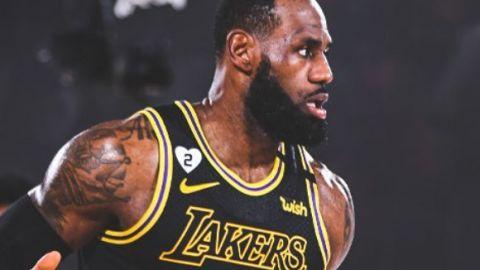 James y Lakers dan homenaje a Bryant con exhibición y triunfo